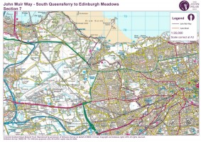 John Muir Way section 7 South Queensferry to Edinburgh b