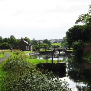S4 Forth Clyde Canal before Wheel