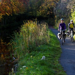 S5 Union Canal cyclists