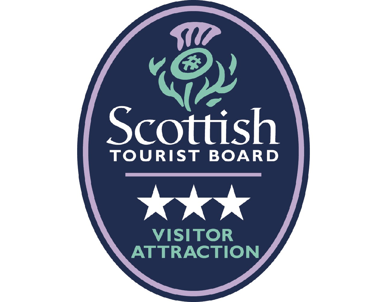 wide 3 Star Visitor Attraction Logo
